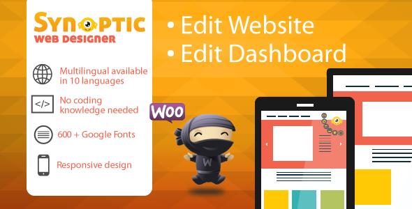 Synoptic Visual Designer: best website design tool