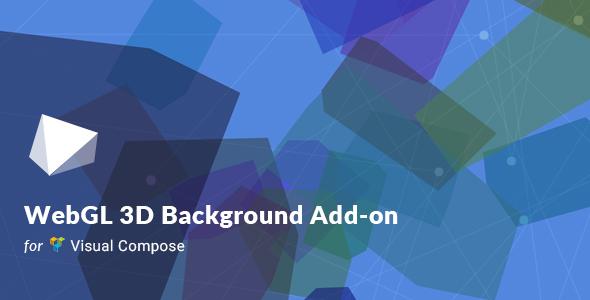WebGL 3D Background For Visual Composer