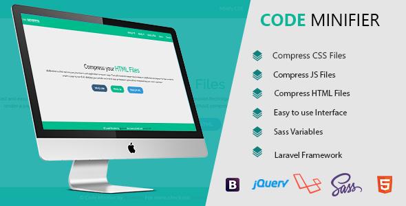 Code Minifier - Compress CSS JS & HTML Files
