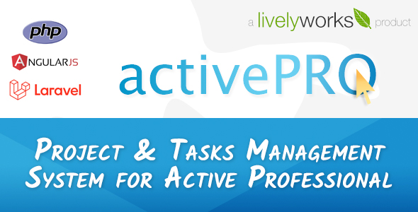 ActivePRO - Project & Tasks Management System for Active Professionals