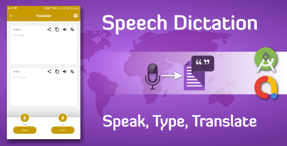 Voice Typing Dictation And Translation Final App Source Code
