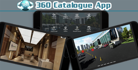 360 Degree Viewer Business Catalogue Mobile App