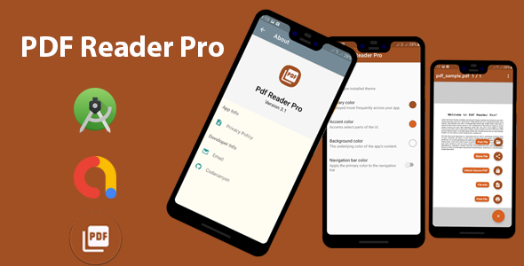 PDF Reader Pro | Admob Ads Integrated | Android Studio Source Code