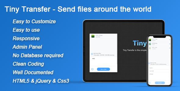 TinyTransfer - Send files around the world 1.1.6