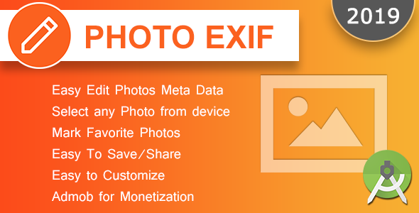 Photo Exif Editor Android App