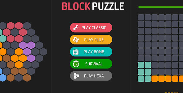 1010 Puzzle Unity Game