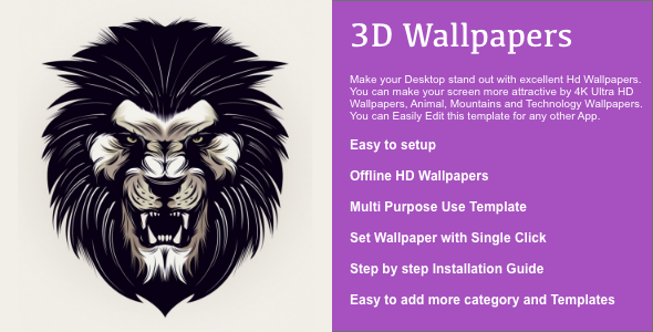 3D Wallpapers for MAC