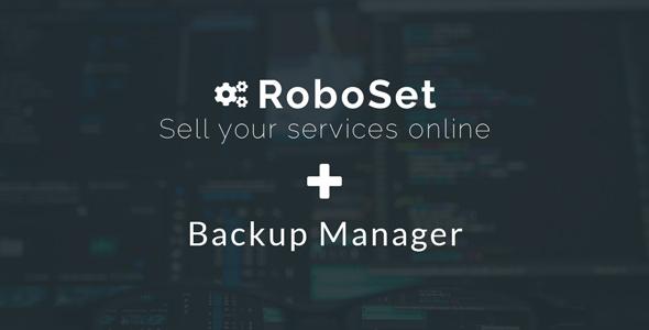 Backup Manager for RoboSet