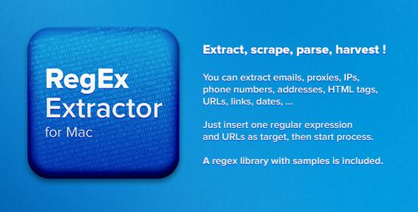 RegEx Extractor for Mac