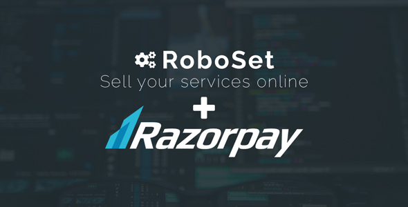 Roboset Integration with Razorpay Payment Gateway