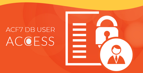Advanced CF7 DB - User Access Manager