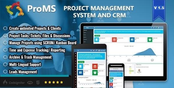 ProMS - Premium Project Management System