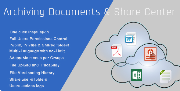 Archiving Documents & Share Center | Entreprise Edition