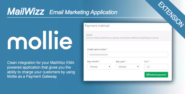 MailWizz EMA integration with Mollie Payment Gateway