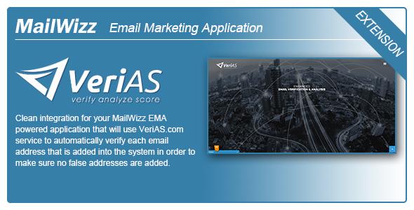 MailWizz EMA integration with VeriAS.com