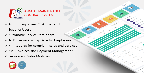 AMC Master – Annual Maintenance Contract Management System