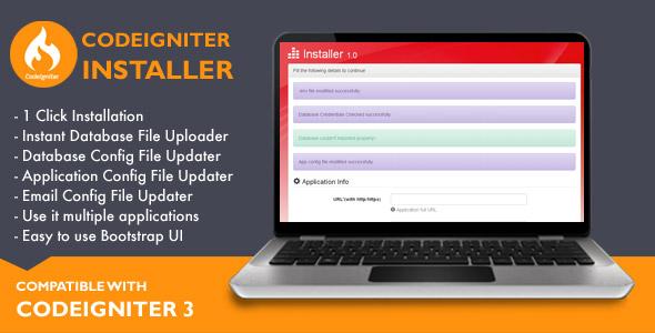 Installer for Codeigniter Application