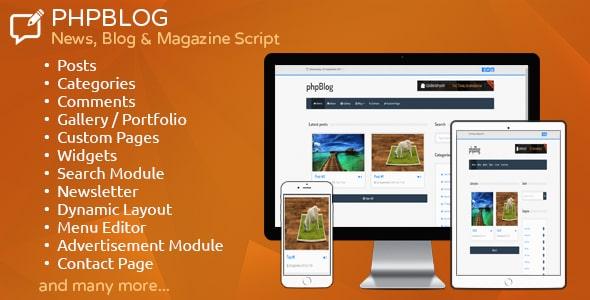 phpBlog - News