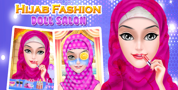 Best Hijab Doll Spa Makeup Salon