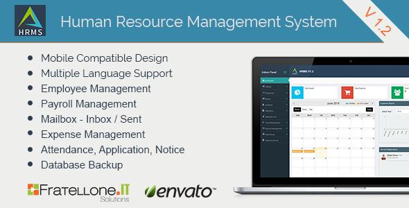 Human Resource Management System (HRMS) V 1.2