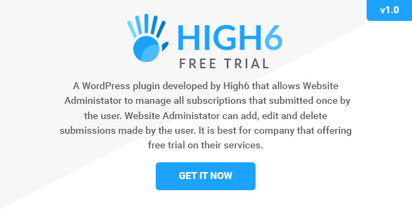 Wordpress Free Trial Subscription