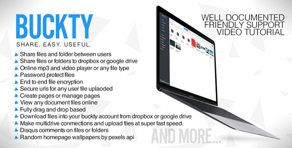 Buckty - File Hosting and Multi Cloud Service