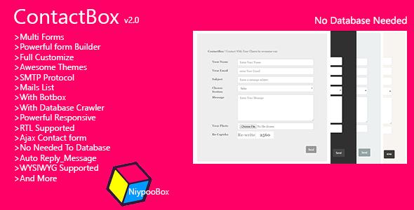 Contactbox - Forms Builder