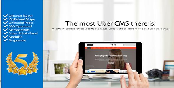 CMS Uber Content Management System