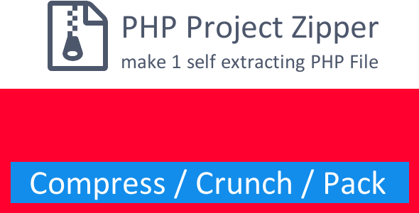 PHP Project Zipper