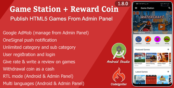 Game Station + Reward Coin