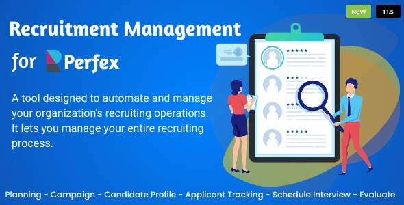 Recruitment Management for Perfex CRM