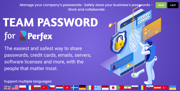 Team Password for Perfex CRM