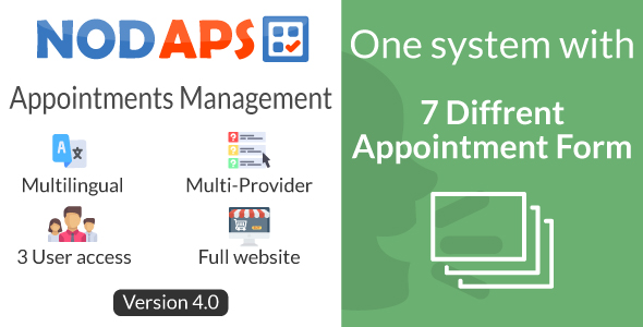 Online Booking system - NodAPS