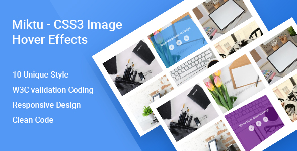 Miktu - CSS3 Image Hover Effects