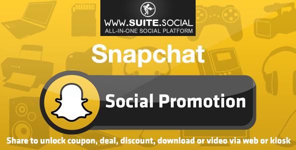 Snapchat Promotion: Sharer