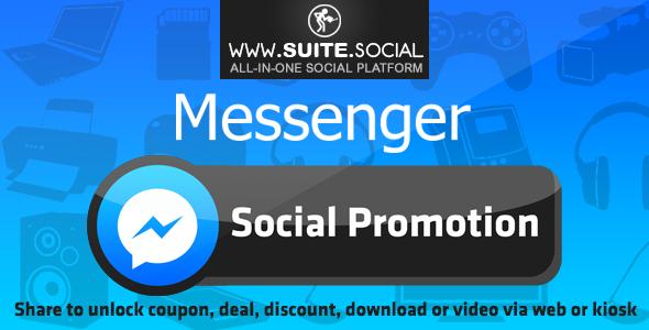Facebook Messenger Promotion: Sharer