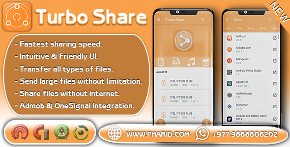 Turbo Share - ShareIt Clone | Ultimate Transfer & Share