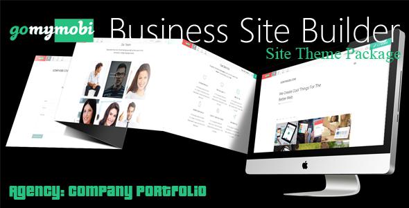 gomymobiBSB's Site Theme: Agency - Company Portfolio