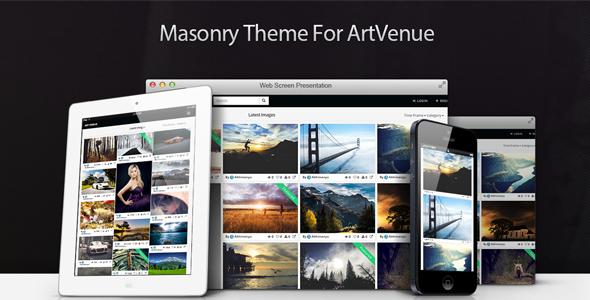 Masonry Theme For ArtVenue