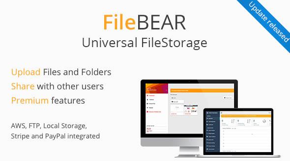 FileBear- Premium File Sharing