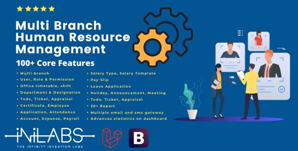 iHRM - Multi Branch Human Resource Management
