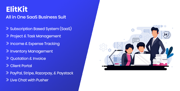 ElitKit - All In One SaaS Business Suit