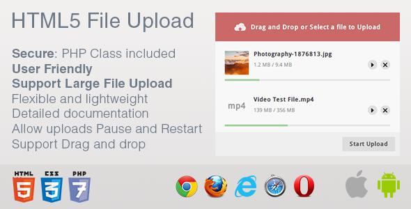 HTML5 File Upload