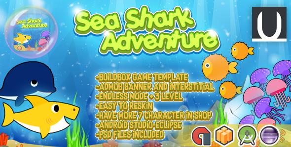 Sea Shark Adventure + Admob (BBDOC+Android Studio+Eclipse)