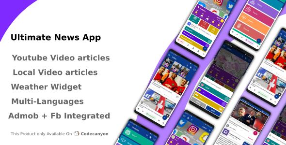 Ultimate News App (Video