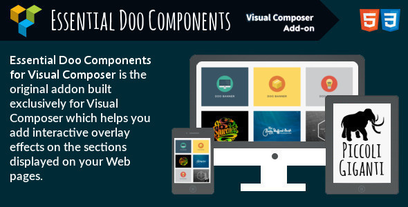 Essential Doo Components for Visual Composer