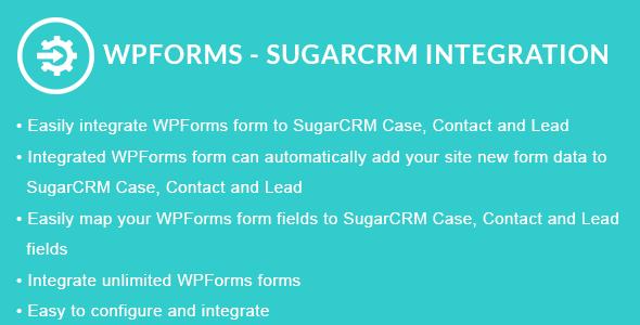 WPForms - SugarCRM Integration