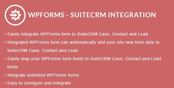 WPForms - SuiteCRM Integration