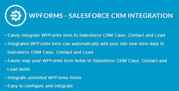 WPForms - Salesforce CRM Integration