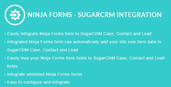 Ninja Forms - SugarCRM Integration